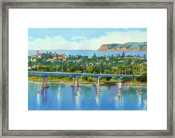 Coronado Island California Framed Print