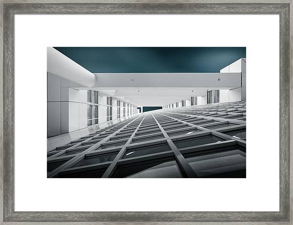 Corridors Of Power Framed Print