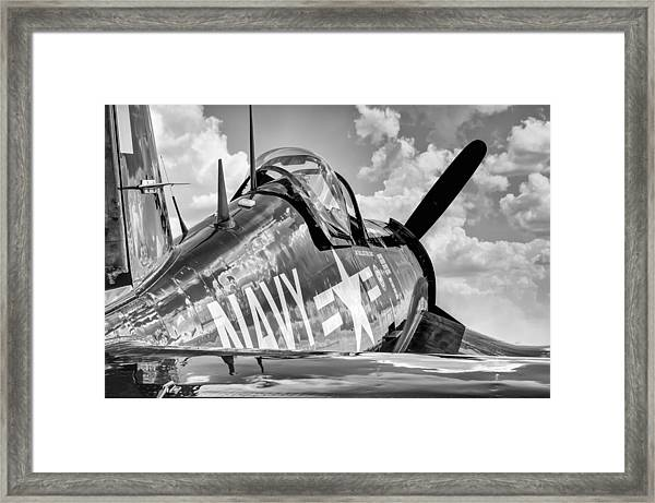 Corsair At Rest Framed Print