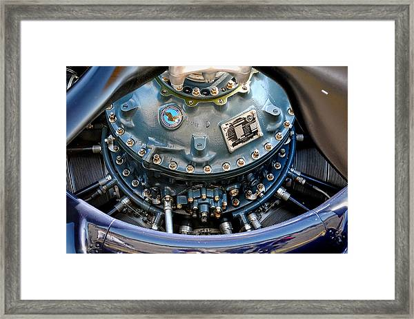 Corsair R2800 Radial Framed Print