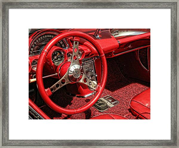 Corvette Framed Print