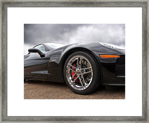 Corvette Z06 Framed Print