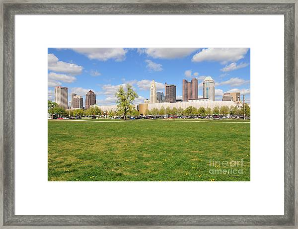 D7l-89 Cosi Columbus Photo Framed Print