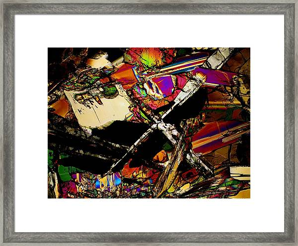 Cosmic Cross Framed Print
