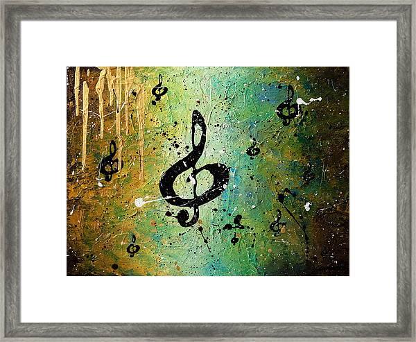 Cosmic Jam Framed Print