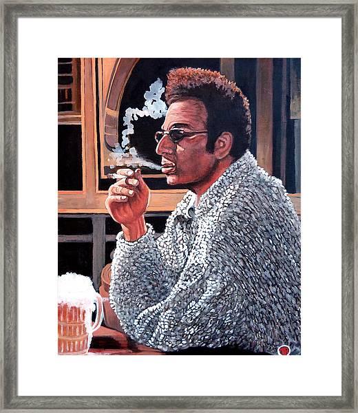 Cosmo Kramer Framed Print