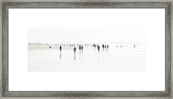 Costa De La Luz Iv Framed Print
