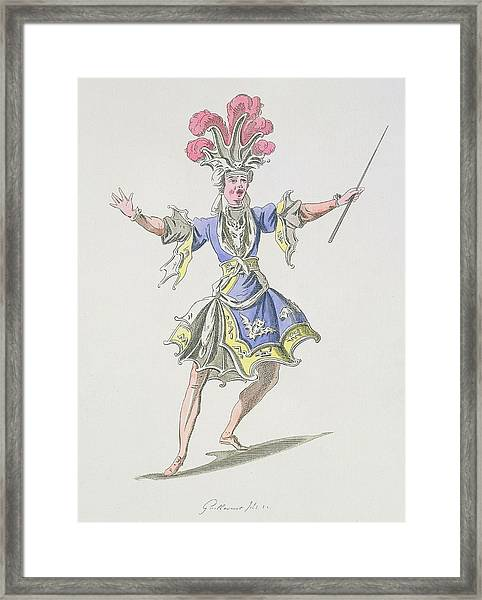 Costume Design For The Magician Framed Print