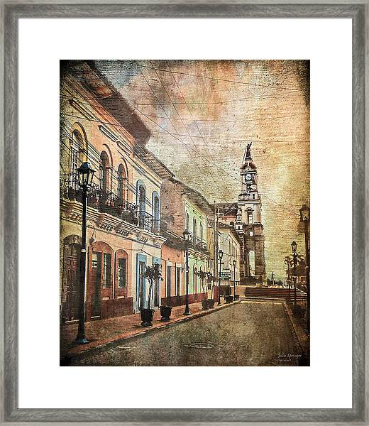 Cotacachi Morning Framed Print
