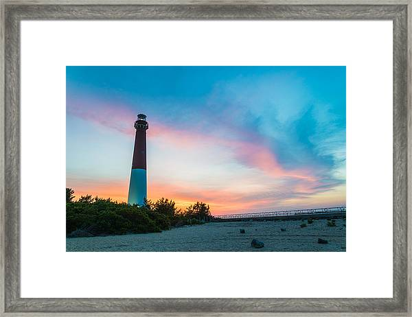 Cotton Candy Day Framed Print