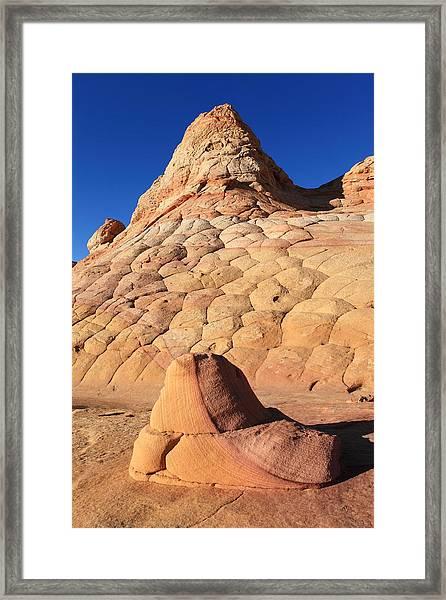 Cottonwood Teepees Framed Print by Darryl Wilkinson