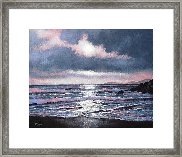 Coumeenole Beach  Dingle Peninsula  Framed Print