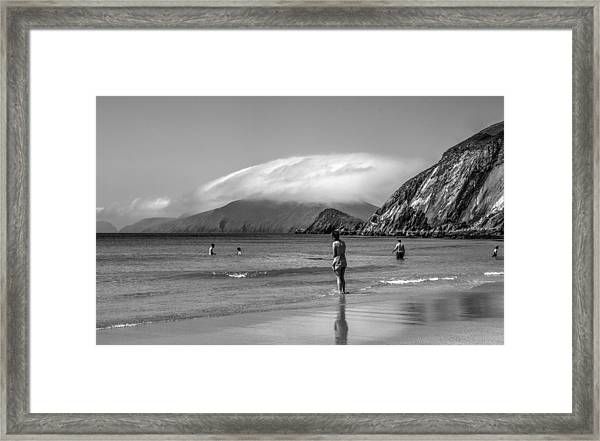 Coumeenole Throwback Framed Print