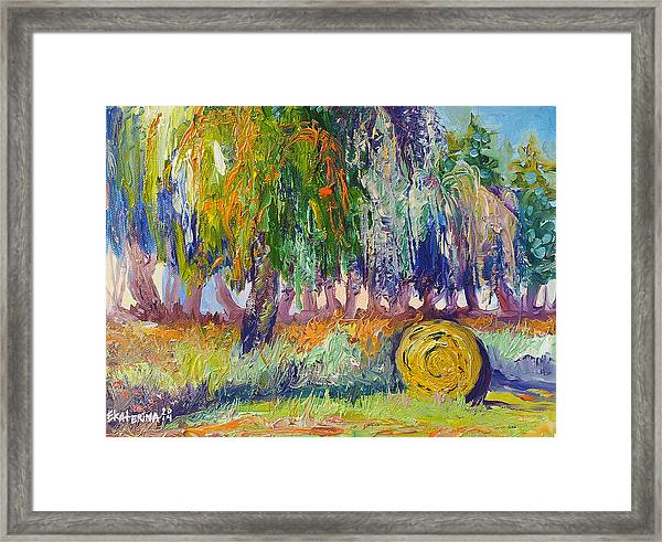 Country Painting By Ekaterina Chernova Framed Print