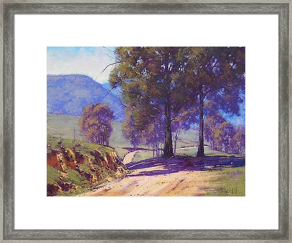 Country Road Oberon Framed Print