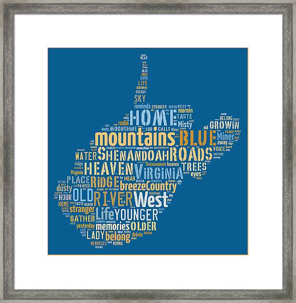 Country Roads 3 Framed Print