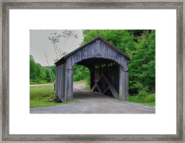 Country Store Bridge 5656 Framed Print