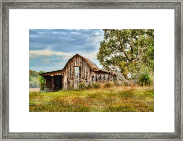 Farm - Barn - Country Time Barn Framed Print