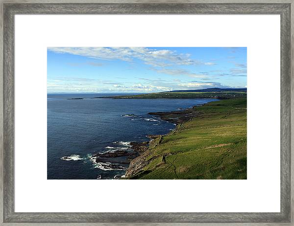 County Clare Coast Framed Print