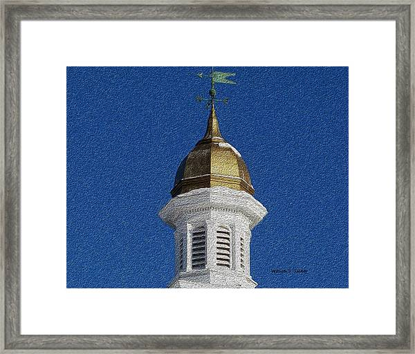 County Courthouse Framed Print