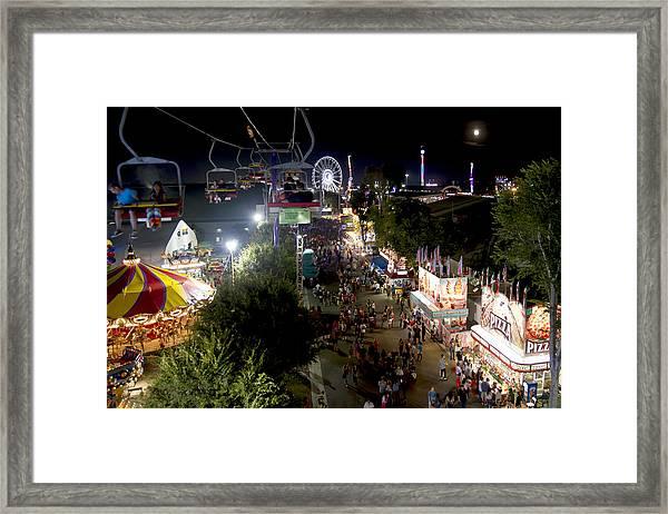 County Fair Fun 2 Framed Print