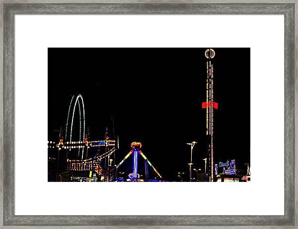 County Fair Framed Print
