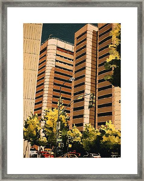 County Jail Framed Print by Paul Guyer