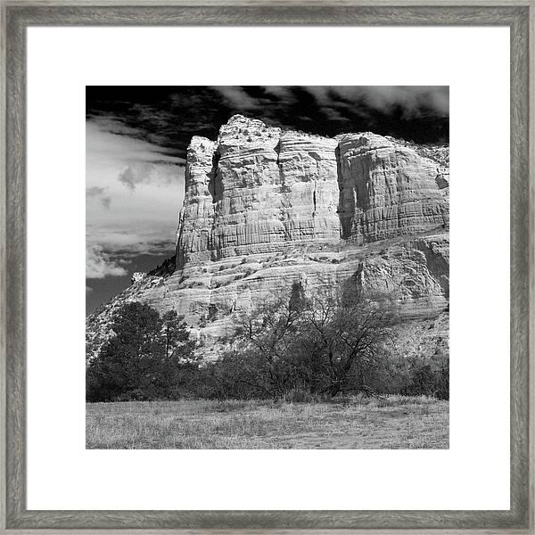 Courthouse Rock Framed Print