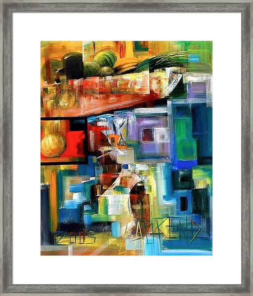 Cousine Framed Print by Laurend Doumba