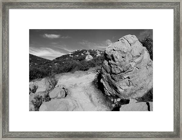 Cowles Mtn Framed Print