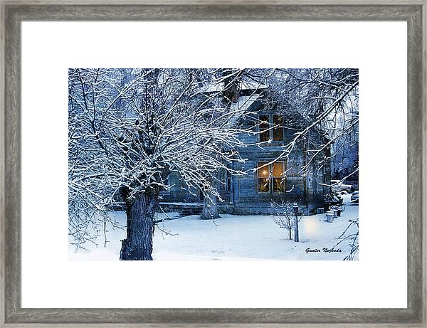 Cozy Framed Print