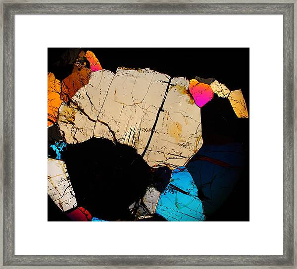 Crab Walk Framed Print