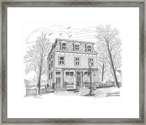 Cranberry's Cafe Circa 1884 Framed Print