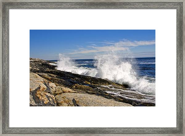 Crash Framed Print