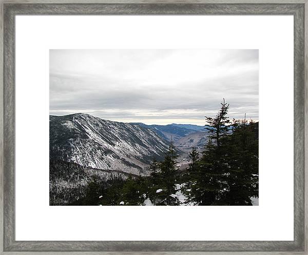 Crawford Notch Framed Print