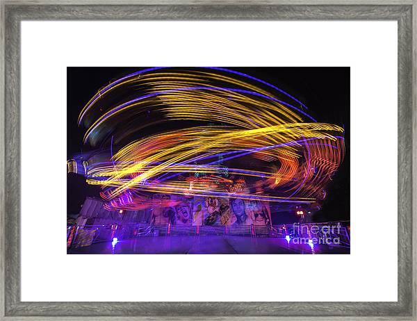Crazy Ride Framed Print