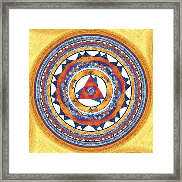 Creative Energy Framed Print