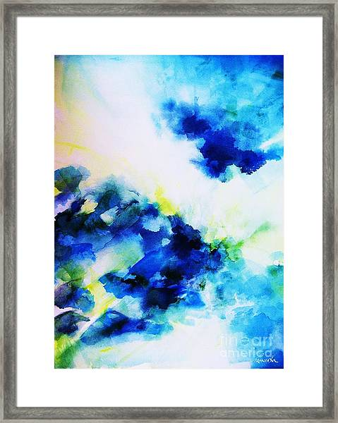 Creative Forces  Framed Print