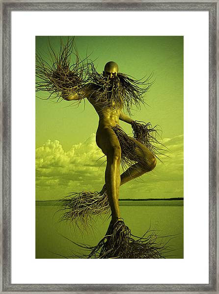 Creature Framed Print
