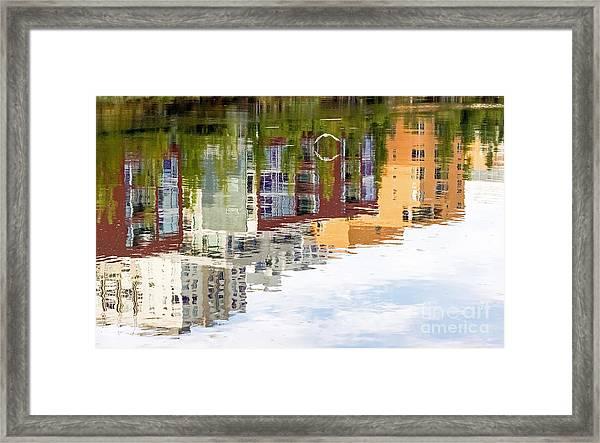 Creekside Reflections Framed Print