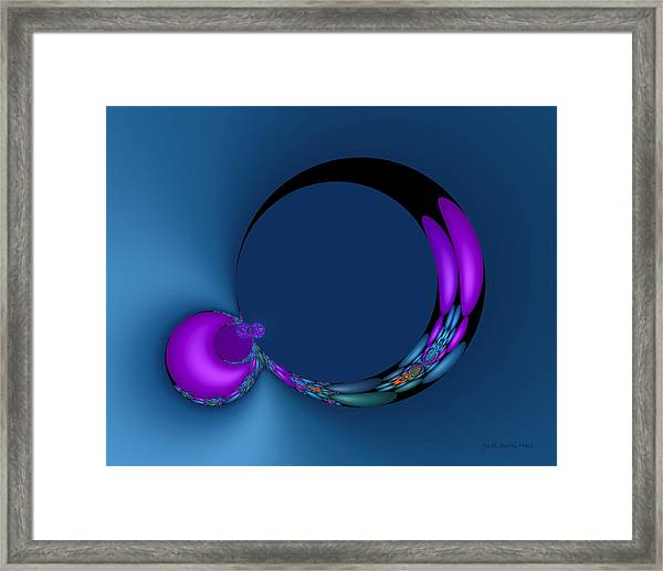 Crescent Moons Framed Print