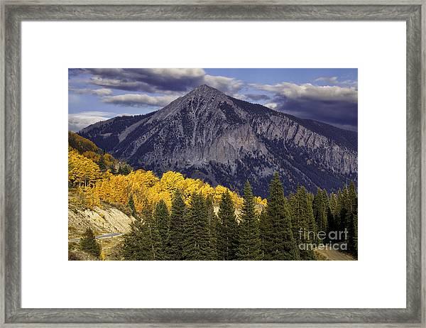 Crested Butte Framed Print