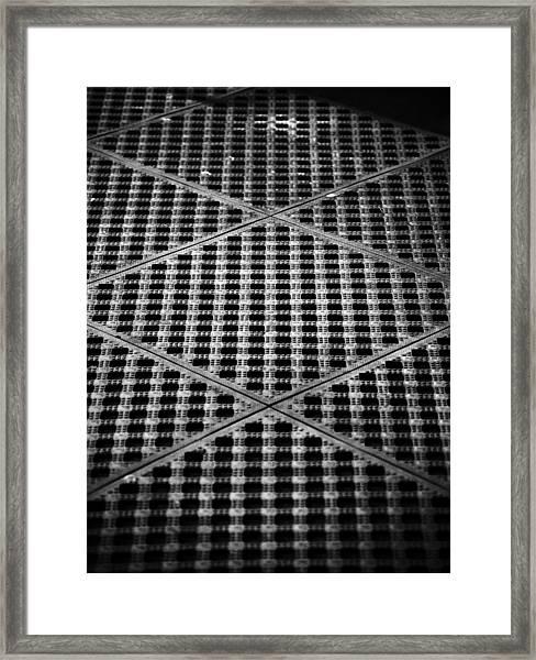 Criss Cross Framed Print