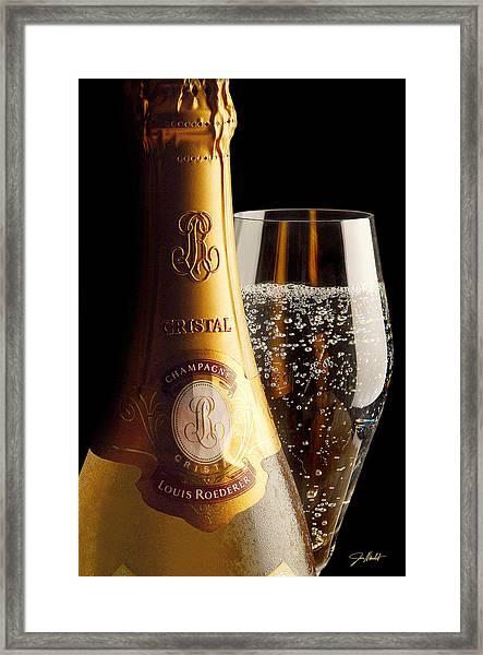 Cristal Party Framed Print