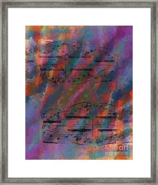 Cross Figured Framed Print