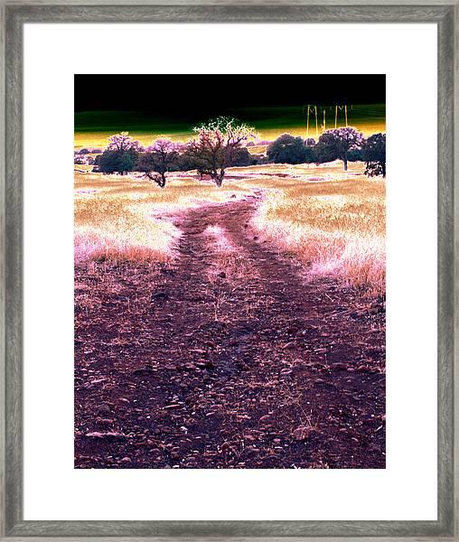 Crossing That Dark Horizon Isn't Unfamiliar To Me 2010 Framed Print