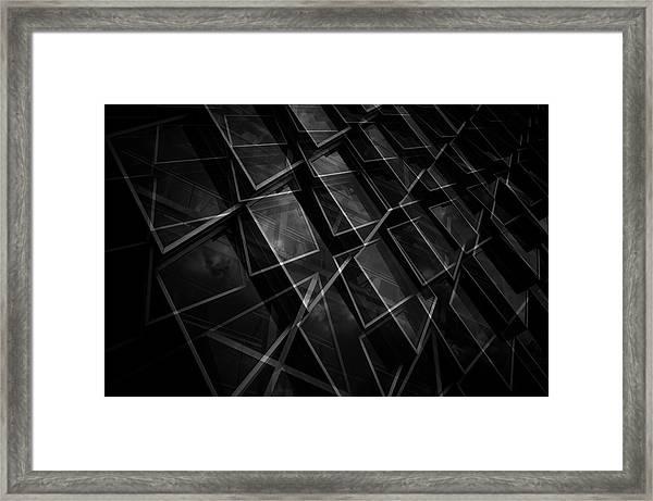 Crossing Windows Framed Print by Jeroen Van De