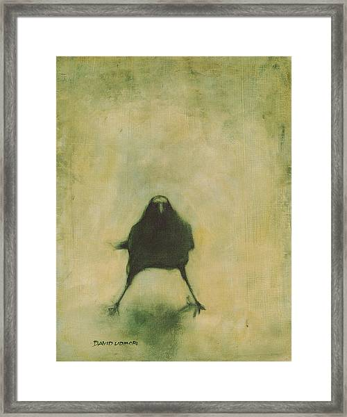 Crow 6 Framed Print