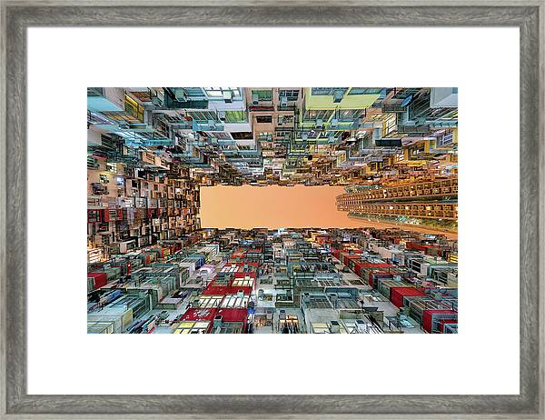 Crowded Spaces Framed Print