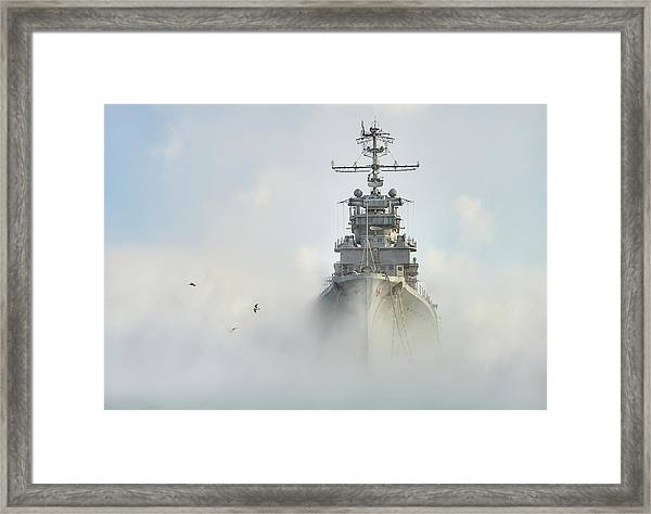 Cruiser Ghost Framed Print by Dmitry Nesvetaylov